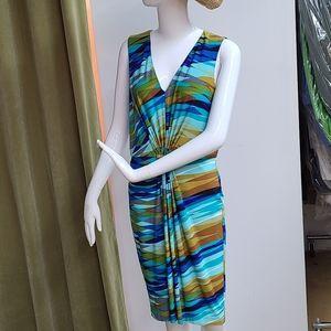 Calvin Klein Multi-Color Dress